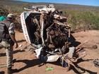 Acidente em rodovia de Caetité deixa 10 feridos; carros ficaram destruídos