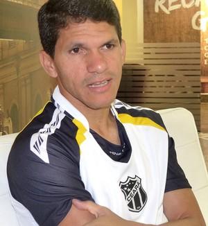 Magno Alves do Ceará entrevista (Foto: Alexandre Alliatti)