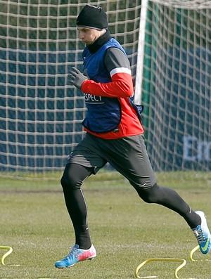 Ibrahimovic PSG treino (Foto: Agência AP)