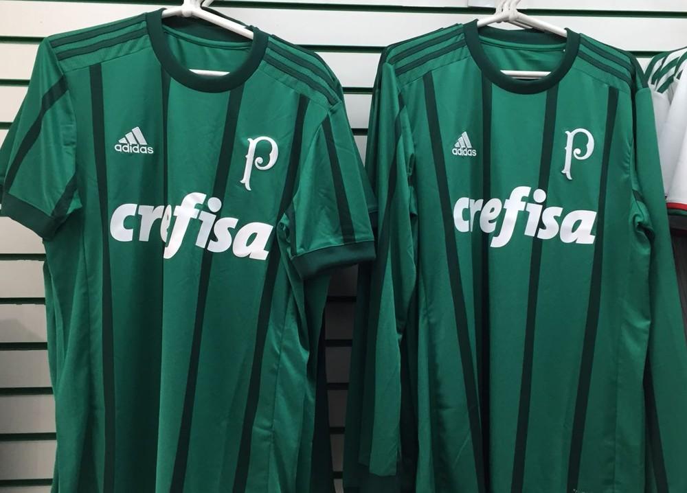 68a9ffec6aea2 Camisa nova do Palmeiras tem dois tons de verde (Foto  Arquivo pessoal)