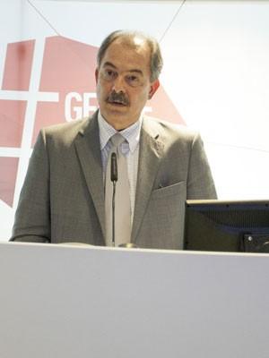 O ministro Aloizio Mercadante no encerramento do Geekie Games 2014 (Foto: Divulgação/Felipe Feca Fotografia)
