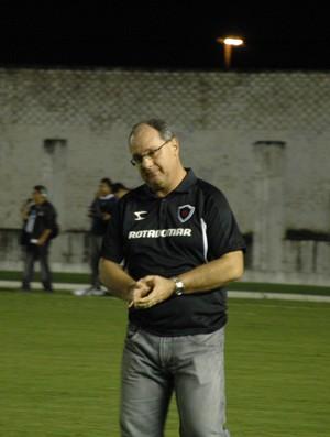 Técnico do Botafogo-pb, Marcelo Vilar, Campeonato Paraibano, Paraíba, semifinal do paraibano (Foto: Richardson Gray / Globoesporte.com/pb)