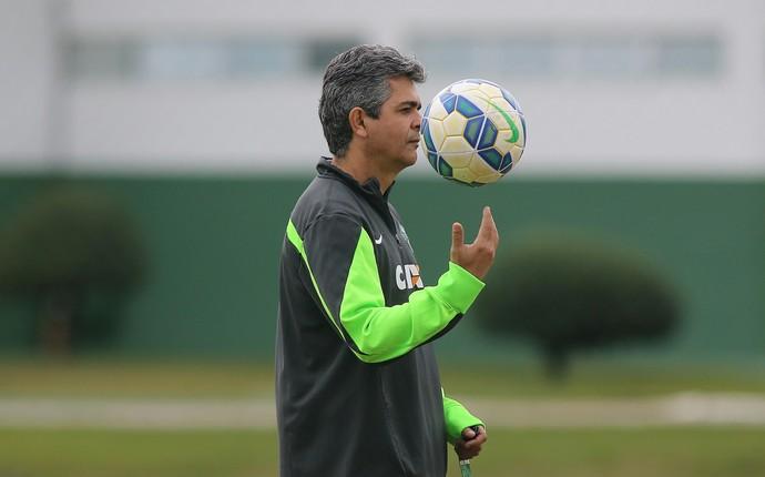 Ney Franco Coritiba (Foto: Giuliano Gomes / PR Press)