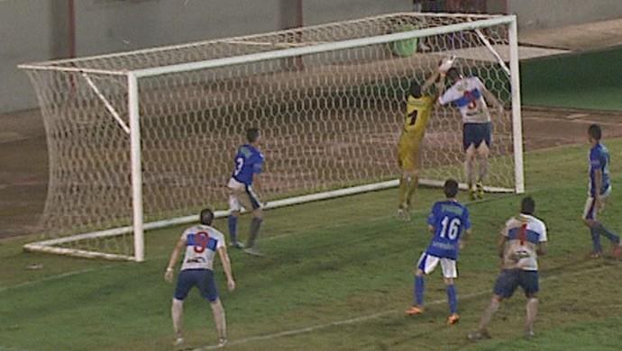 Gol anulado Atlético-AC (Foto: Reprodução/Rede Amazônica Acre)