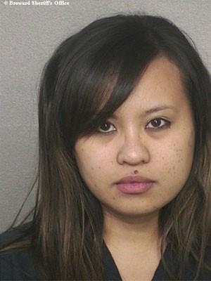 Jennalin Garcia-Calle, de 28 anos, foi acusada de assédio sexual por relacionamento com aluno (Foto: Reprodução)