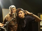MC Guimê grava pagode com padrasto de Lexa: 'Eu sou favela'