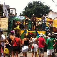 Carnaval continua na Vila Madalena (Paulo Toledo Piza/G1)