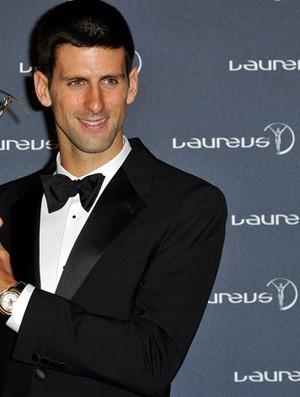 tênis djokovic prêmio laureus (Foto: Agência Getty Images)