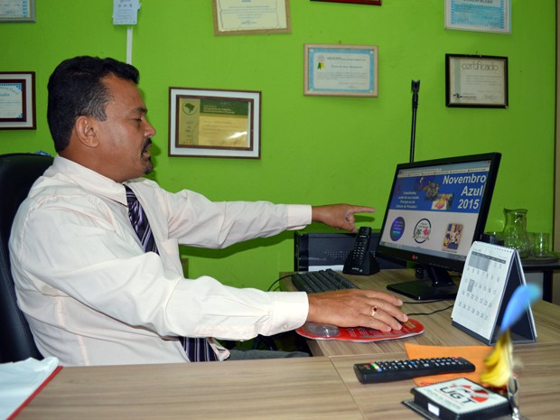Presidente do Sindicato das Indústrias de Alimentação e Afins de Campo Grande (Stiaa/CG), Rinaldo Salomão (Foto: Anderson Viegas/Do G1 MS)