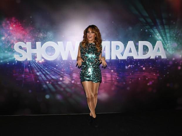Wanessa na gravação do show da Virada 2013 em São Paulo (Foto: Cláudio Augusto/ Foto Rio News)