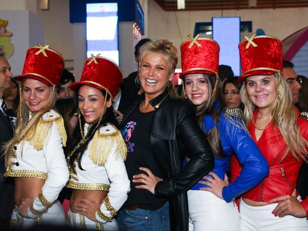 Xuxa e Paquitas (Foto: Manuela Scarpa /Foto Rio News)