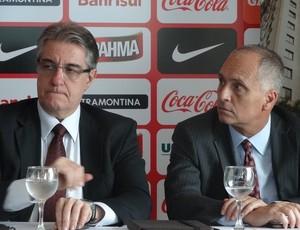 Luis Cesar Souto de Moura Marcelo Medeiros Inter (Foto: Tomás Hammes / GLOBOESPORTE.COM)