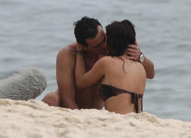 RODRIGO LOMBARDI E FERNANDA PAES LEME (Foto: Delson Silva / AgNews)