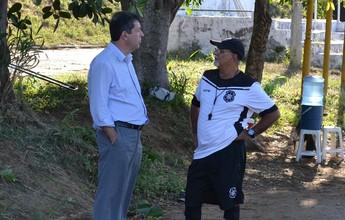 """Técnico do Rio Branco-ES """"chama a responsabilidade"""" sobre o novo elenco"""