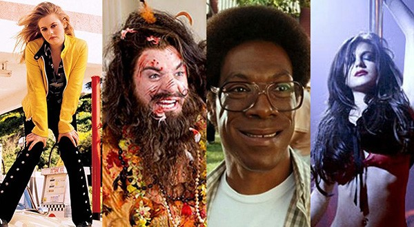 Alicia Silverstone, Mike Myers, Eddie Murphy, Lindsay Lohan (Foto: Divulgação)