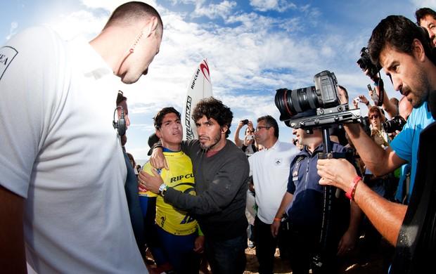 Gabriel Medina final Peniche (Foto: ASP/Cestari)