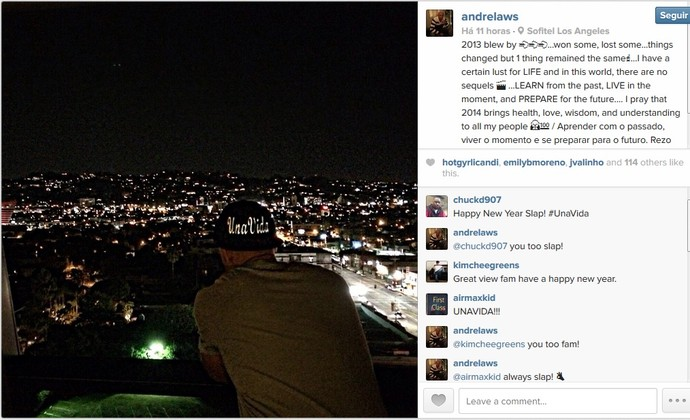 Andre Laws São José Basquete (Foto: Reprodução/Instagram)