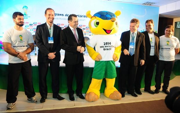 Programa de Voluntários da Copa do Mundo em Cuiabá (Foto:  Josi Pettengill/Secom-MT)