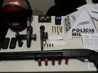 Presos suspeitos de envolvimento em roubos e explosões de caixas em MG
