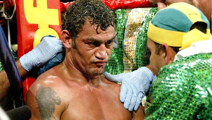 boxe acelino popo freitas e Juan Diaz (Foto: Agência Reuters)