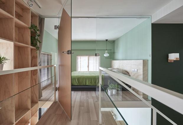 Apartamento reformado em Taiwan (Foto: Hey!Cheese / divulgação)