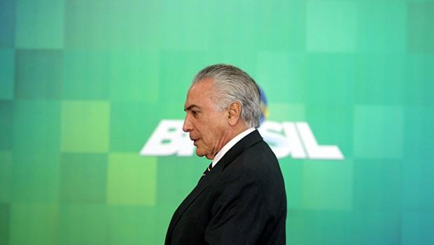 O presidente Michel Temer (Foto: Ricardo Moraes/Reuters)