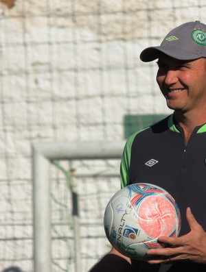 Gilmar Dal Pozzo técnico Chapecoense (Foto: Marcelo Silva)