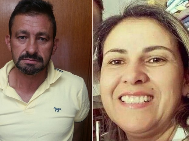Klayton Rezende e Cristiane Alves eram casados há mais de 20 anos, em Goiás (Foto: Divulgação/Polícia Civil)