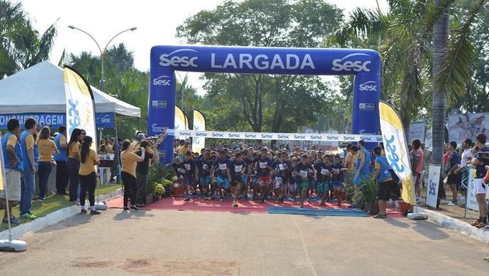 Meia Maratona Sesc de Revezamento em Gurupi (Foto: Otávio Frabetti/ Ascom Sesc TO)