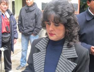 Abigail Saba, Ministério público da Bolívia (Foto: Diego Ribeiro)