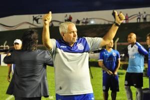 Marcos Birigui, treinador do Sinop (Foto: Robson Boamorte)