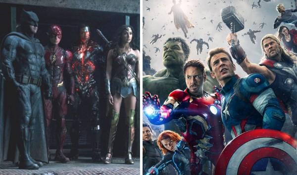 Liga da Justiça X Vingadores (Foto: Reprodução)