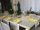 Decorador de Cacoal dá dicas de como enfeitar a mesa de Ano Novo