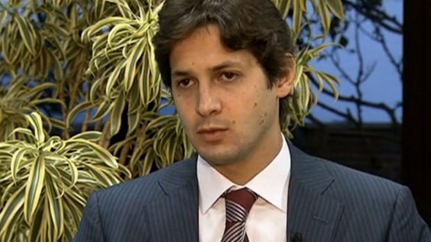 Flávio Zveiter, presidente do Superior Tribunal de Justiça Desportiva (STJD) (Foto: Reprodução SporTV)
