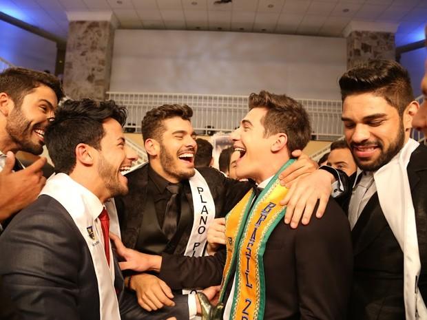 Concurso reuniu 28 candidatos de todo o Brasil em Jurerê Internacional (Foto: Leonardo Rodrigues)