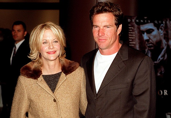 Dennis Quaid e Meg Ryan  (Foto: Getty Images)