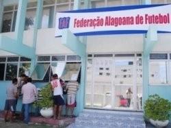 Sede da Federação Alagoana de Futebol (Foto: Divulgação FAF)