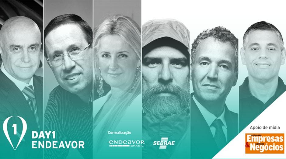 Day1: histórias inspiradoras de empreendedorismo (Foto: Endeavor)