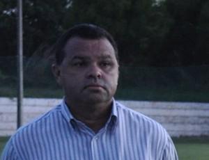 Diretoria do River-PI conversa com novo técnico Edson Porto (Foto: Renan Morais/GLOBOESPORTE.COM)