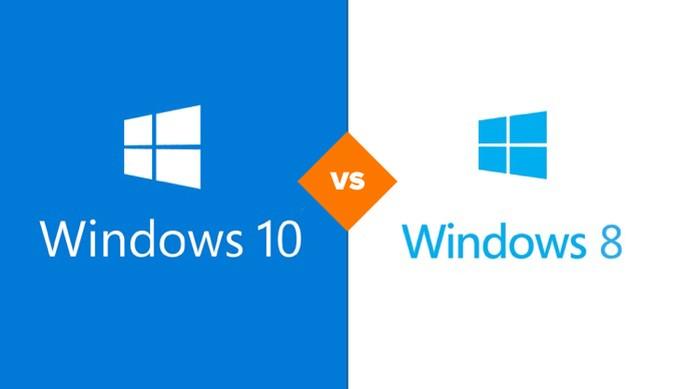 Com duas semanas de vida, Windows 10 já tem mais usuários que Windows 8 (Foto: Arte/TechTudo)