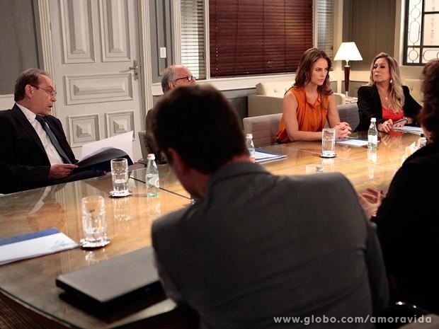 Todos acordam com a proposta na mesma hora (Foto: Pedro Curi / TV Globo)