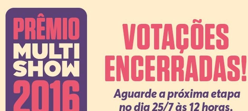 Prêmio Multishow 2016 - encerramento