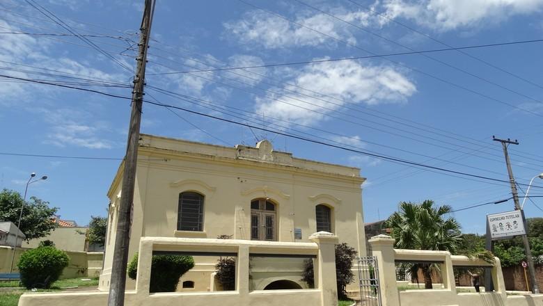 O espaço Cadeia Velha receberá o Centro Histórico José Hamilton Ribeiro (Foto: Prefeitura de Santa Rosa do Viterbo)
