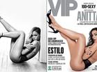 Anitta repete pose de Rihanna em ensaio para revista