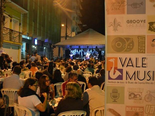 Festival de Jazz, que acontece sexta (5) e sábado (6), está entre atrações que vão até final de setembro em Santa Rita do Sapucaí, MG (Foto: Arquivo/Cidade Criativa)