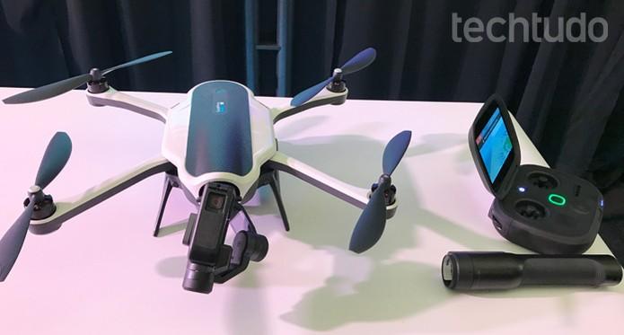 GoPro Karma ou DJI Phantom 3 Professional? Descubra qual drone é melhor (Foto: Anna Kellen Bull/TechTudo)