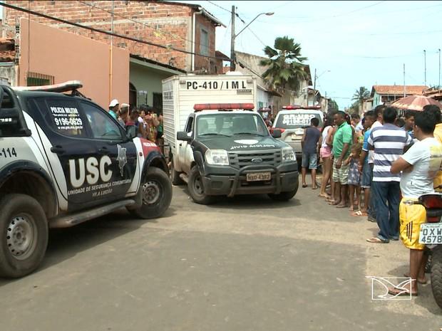 Homem é preso por duplo homicidio em São Luís (Foto: Reprodução/ TV Mirante)
