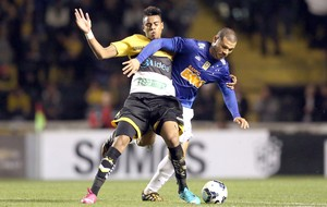 Gustavo e Nilton - Criciúma e Cruzeiro (Foto: Getty Images)