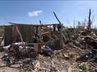 Bom Dia Brasil mostra o caos no Haiti após passagem do furacão Matthew