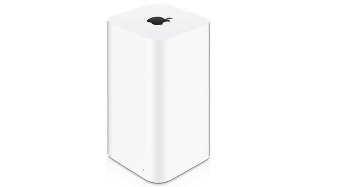 AirPort Time Capsule é mais avançado para backup do Mac (Foto: Divulgação/Apple) (Foto: AirPort Time Capsule é mais avançado para backup do Mac (Foto: Divulgação/Apple))